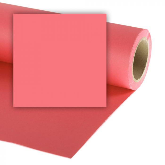 Colorama Paper Background 2.72 x 11m Coral Pink