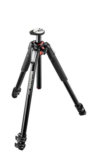 Manfrotto 055 aluminium 3-section photo tripod, wi
