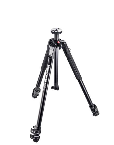 Manfrotto 190X Aluminium 3-section camera tripod