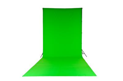 Lastolite Chromakey Curtain 3 x 7m Green