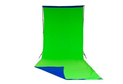 Lastolite Chromakey Curtain Reversible 3 x 7m Blue