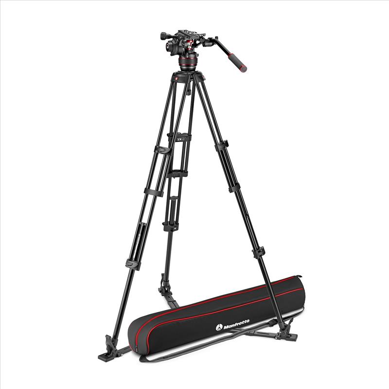 Manfrotto Nitrotech 608 & Alu Twin GS