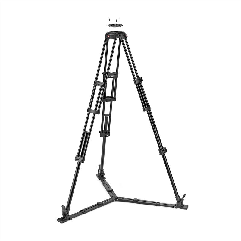 Manfrotto Alu Twin GS Tripod 100/75mm