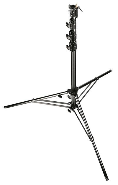 Manfrotto Black Aluminium 4-Sections Super Stand 1