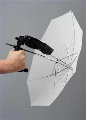 Lastolite Brolly Grip Kit + Handle & Umbrella 50cm