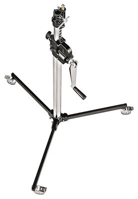 Manfrotto Steel 2-Section Low Base Wind Up Stand