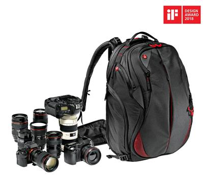 Manfrotto Pro Light camera backpack Bumblebee-230