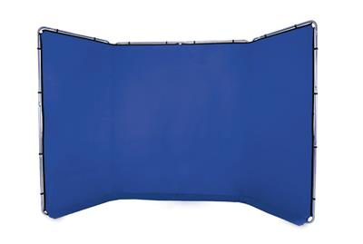 Lastolite Panoramic Background 4m Chroma Key Blue