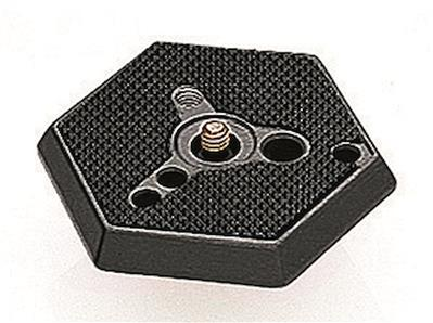 Manfrotto Hexagonal Adapter Plate normal with 1/4""