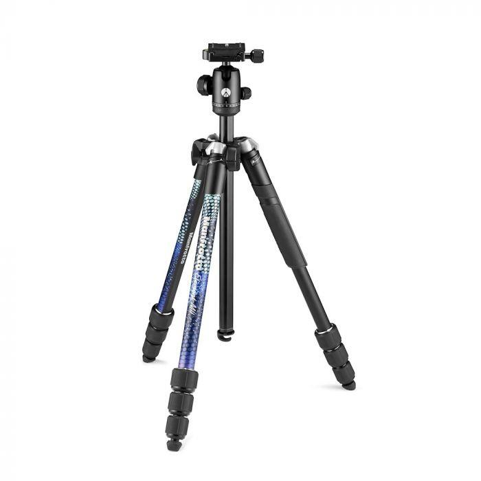 Manfrotto Element MII Aluminium, modrý, 4 Sec, BH