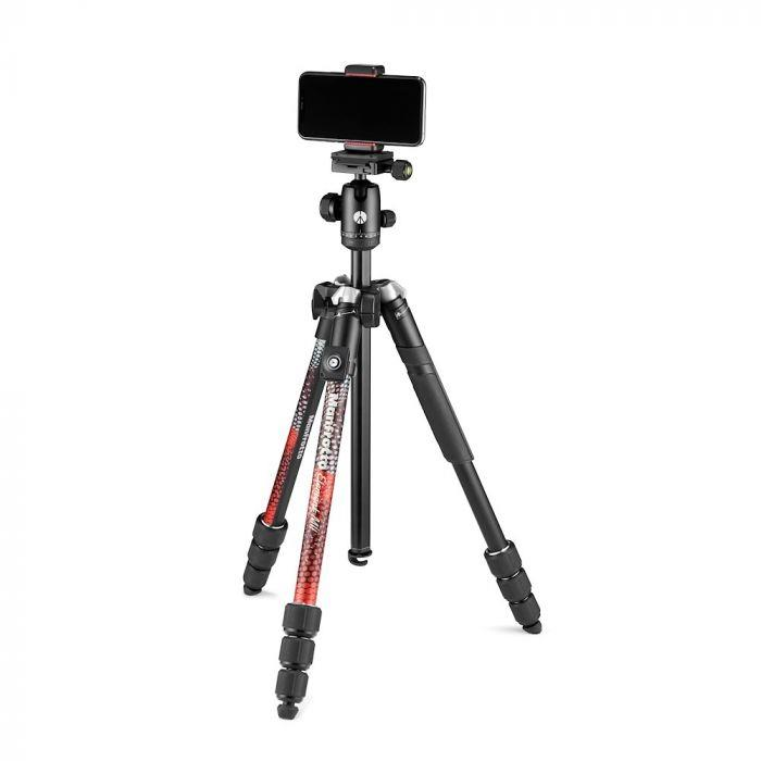 Manfrotto Element MII Mobile Bluetooth Alu RED