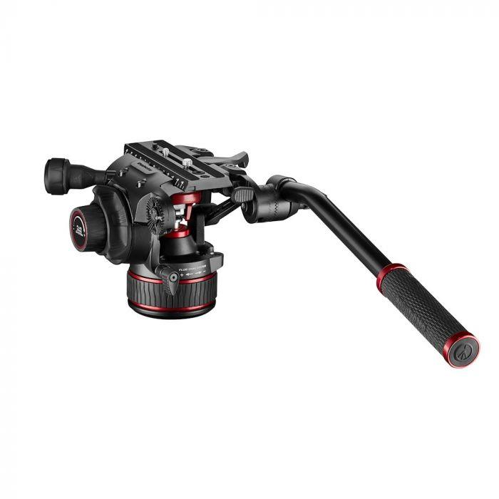 Manfrotto Nitrotech 608 Fluid Video Head With CBS