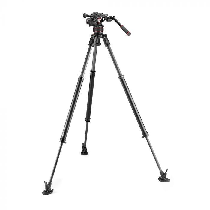 Manfrotto Nitrotech 608 + 635 Fast Single Leg Carb