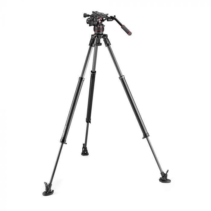 Manfrotto Nitrotech 612+635 Fast Single Leg Carbon