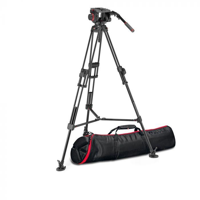 Manfrotto 509 & Alu Twin Fast 2n1